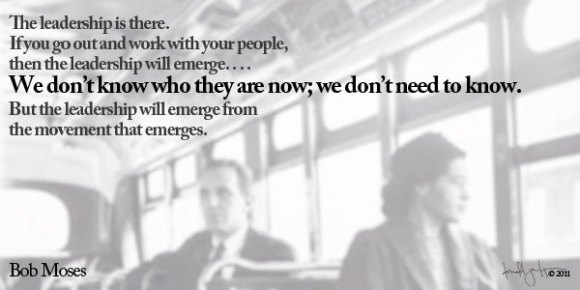 Bob Moses Quote | Rosa Parks Image