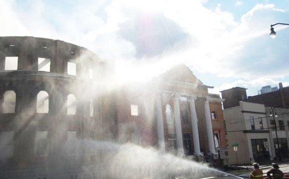 First Baptist Fire, Jackson, TN 2012